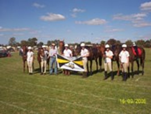 Morawa - School's equestrian competition