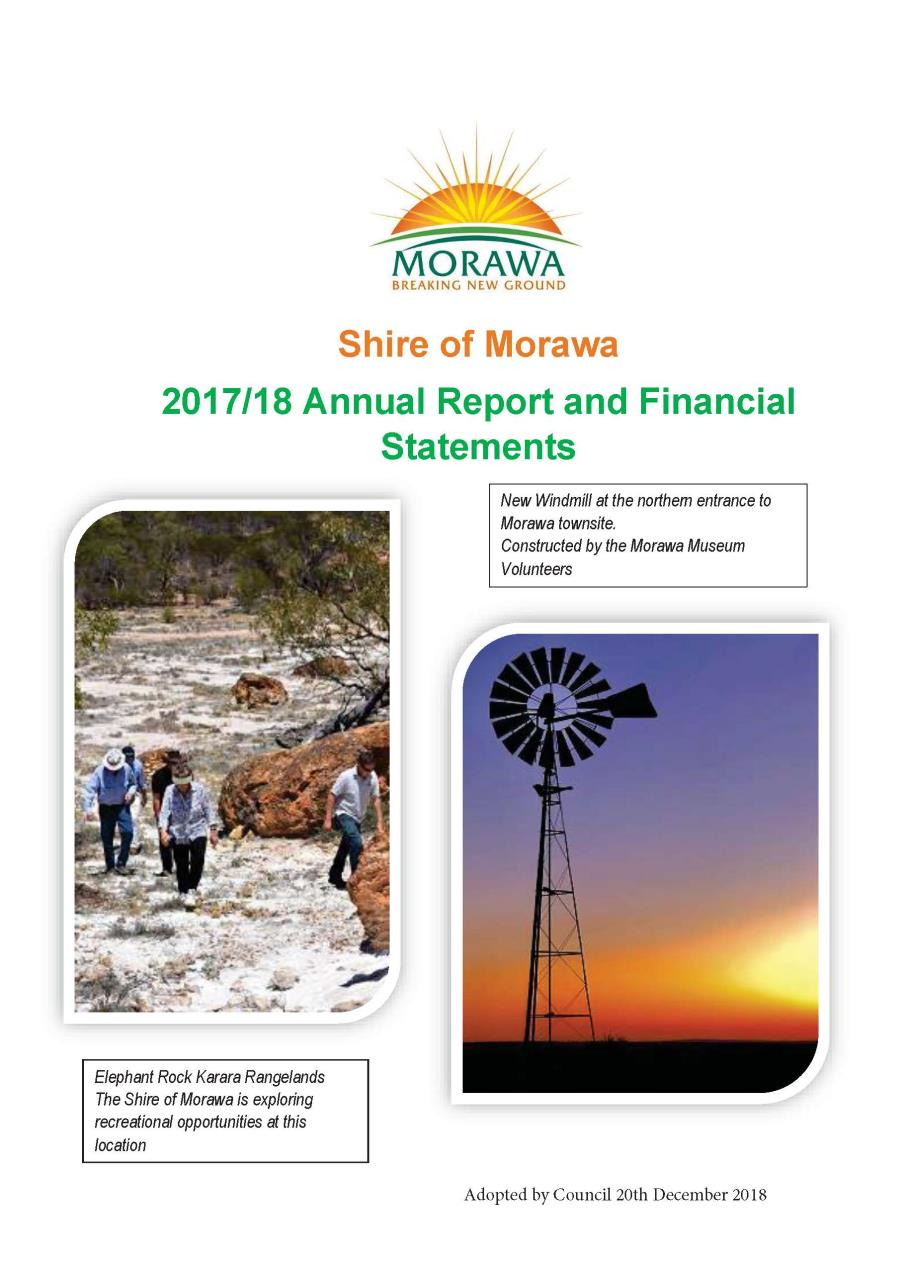 2017/2018 Annual Report & Financials